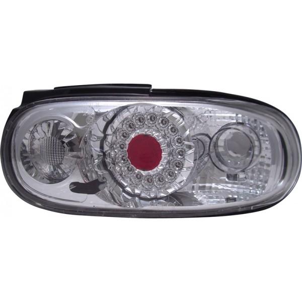 LED Tail lights Mazda MX-5 5/90-3/98 Chrome