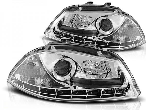 Headlights Seat Ibiza 6L 02-05
