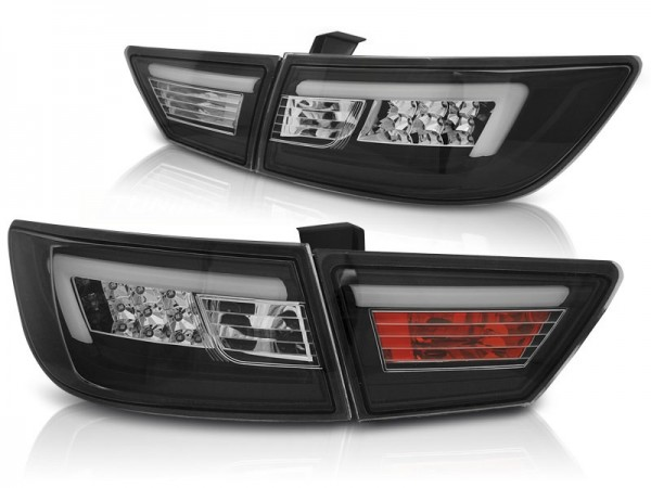 Taillights LED Renault Clio IV red Smoke 2013-