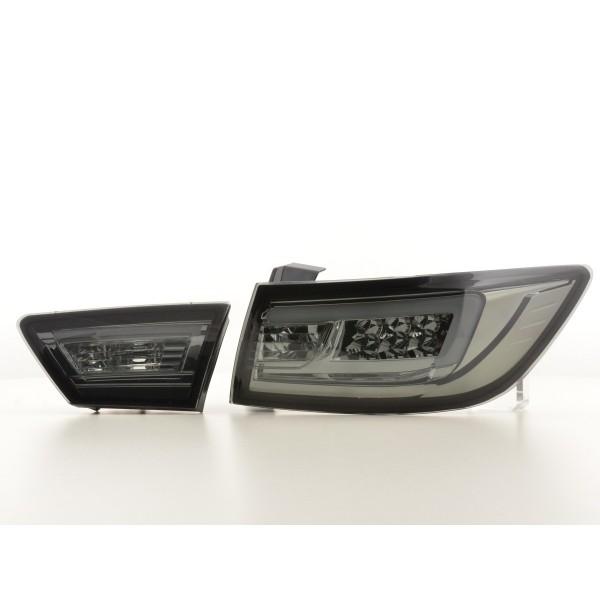 Taillights LED Renault Clio IV Smoke 2013-