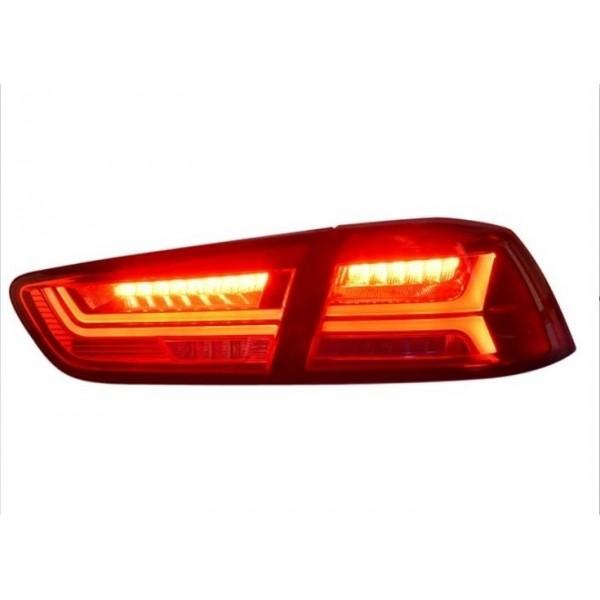 Taillights Mitsubishi Lancer 08- LED Tube