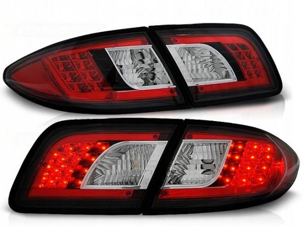 Taillights mazda6 4/5 door led chrome Black