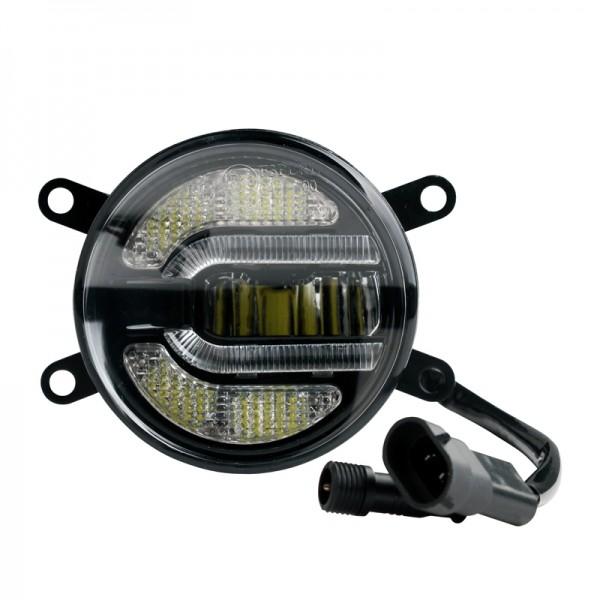 LED DRL / FOG LIGHT 90mm 9-32V